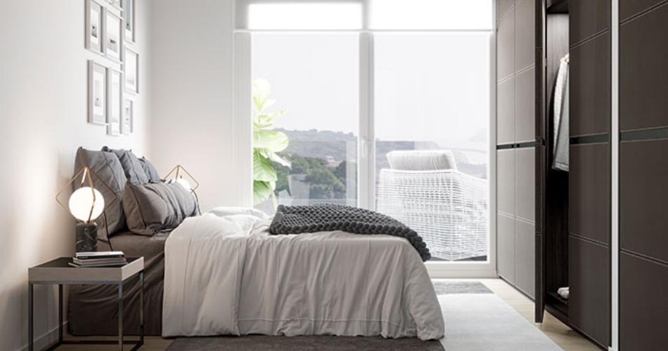 Ideas para amueblar dormitorios pequeños