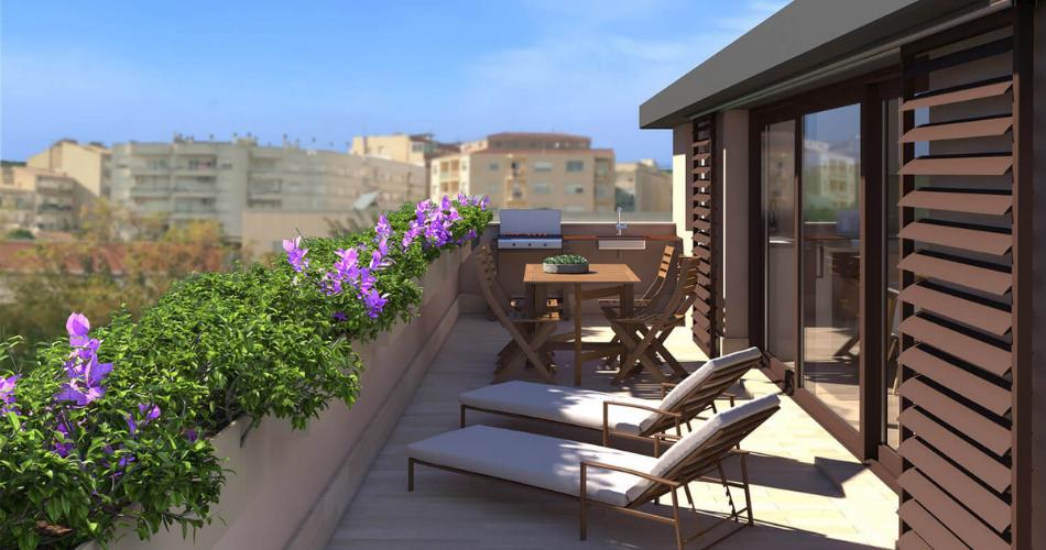 Dale vida al exterior de tu vivienda con el mobiliario adecuado