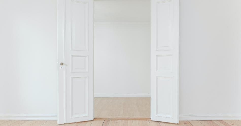 Tipos de puertas para el interior de la vivienda