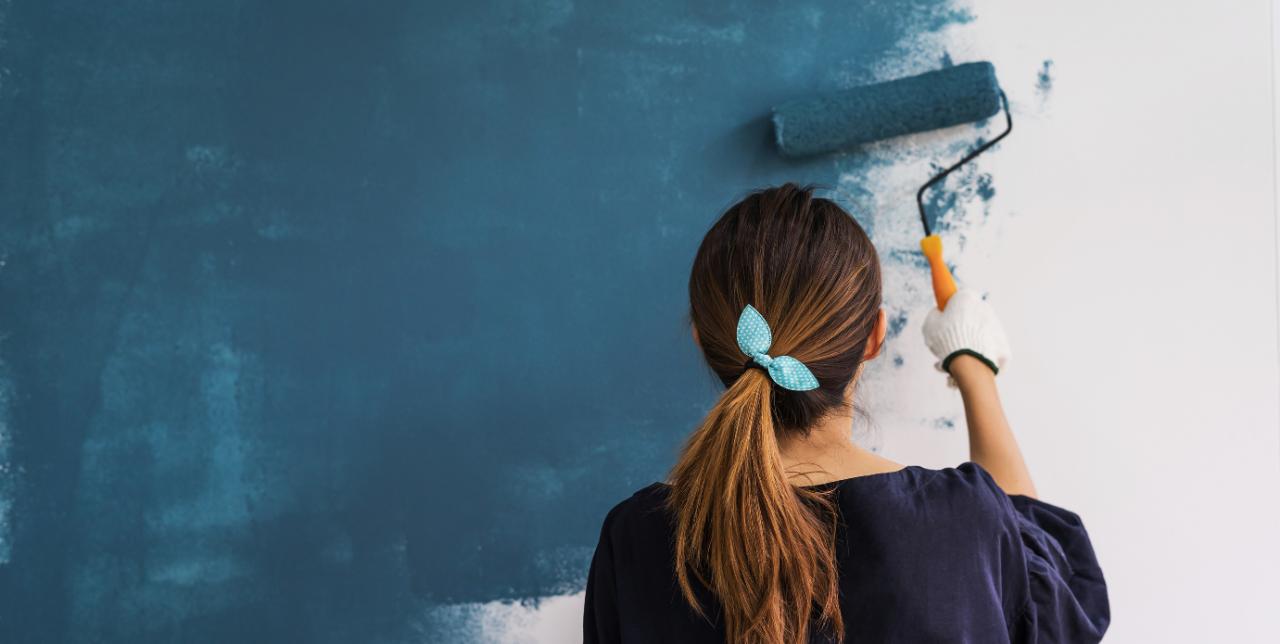 Consejos para pintar las paredes de tu nuevo hogar