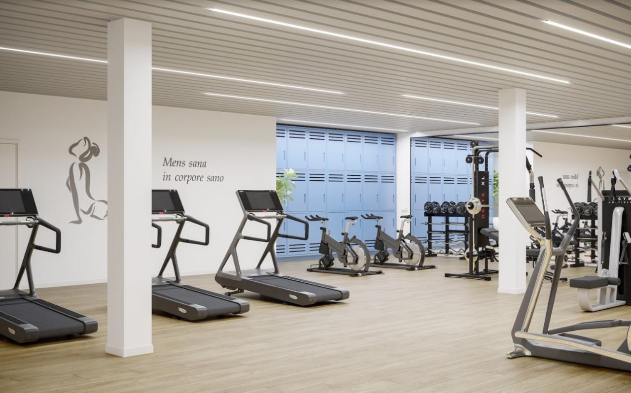 Ventajas de tener un gimnasio comunitario en tu edificio