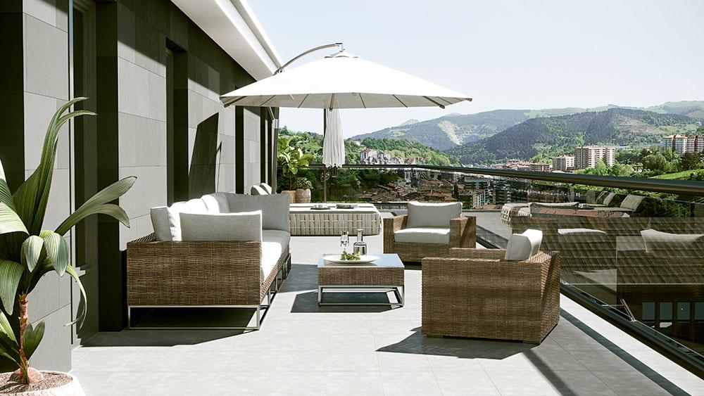 Diferentes alternativas a la electricidad para iluminar tu terraza